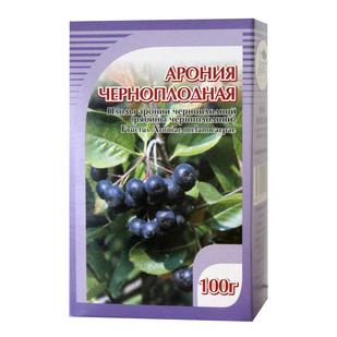 Арония рябина черноплодная сушеная - купить по низкой цене в фито-аптеке Русские Корни