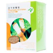 Детокс пластырь для стоп Foot Patch купить в фито-аптеке Русские Корни для выведения шлаков и токсинов