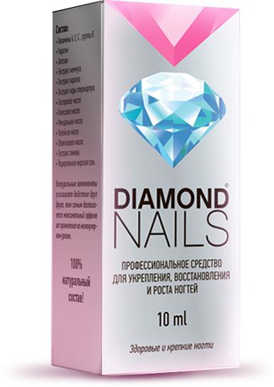 Diamonds Nails средство для ногтей 10 мл