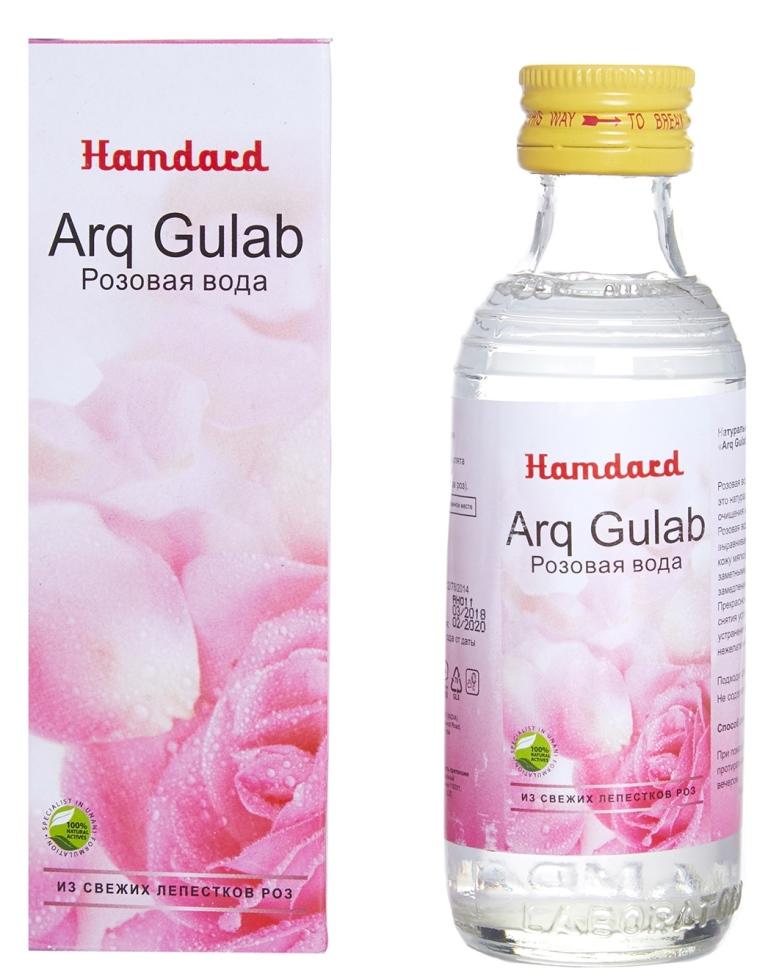 Arq Gulab – натуральная розовая вода на основе эфирного масла