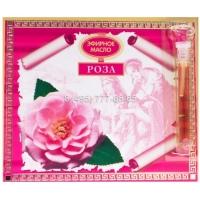 Розовое масло эфирное в сувенирной упаковке 0,5 мл