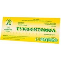 Тукофитомол, суппозитории (свечи) №10 (Адонис)