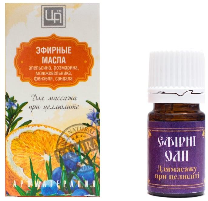 Антицеллюлитные эфирные масла для массажа