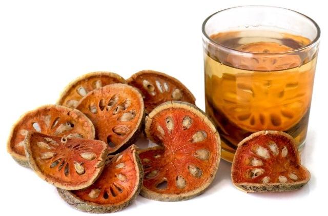 Матум (баэль) плоды