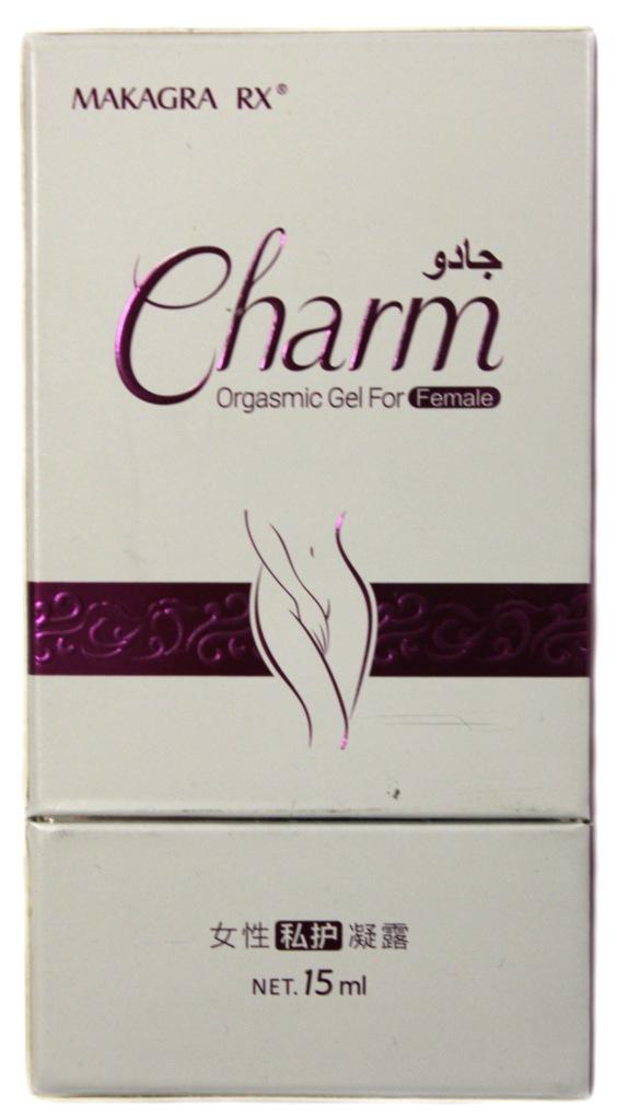 Виагра Charm гель для усиления женского оргазма