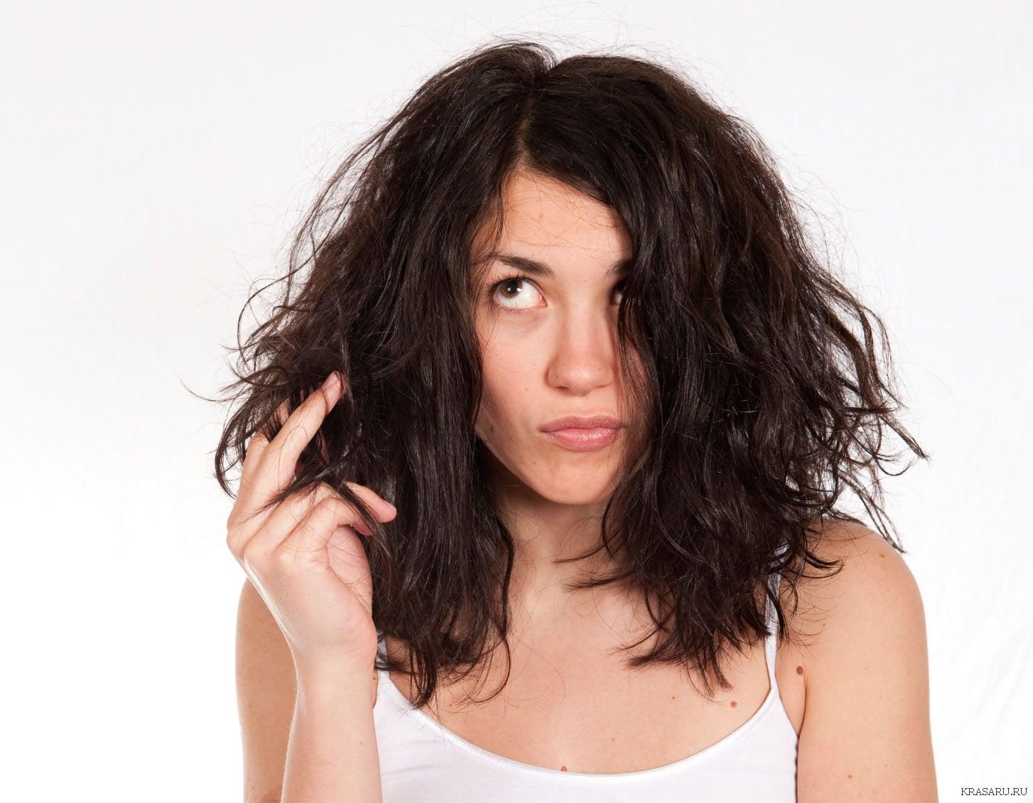 Как сделать волосы нормальными
